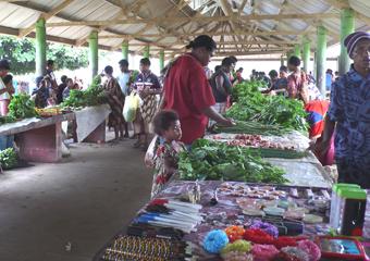 キンベのローカルマーケット