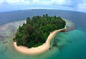 リゾートがある島