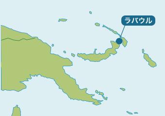 ラバウル地図